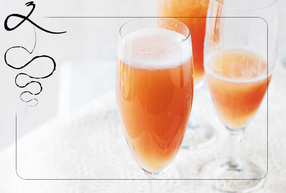 Un Bellini come all'Harry's Bar di Venezia