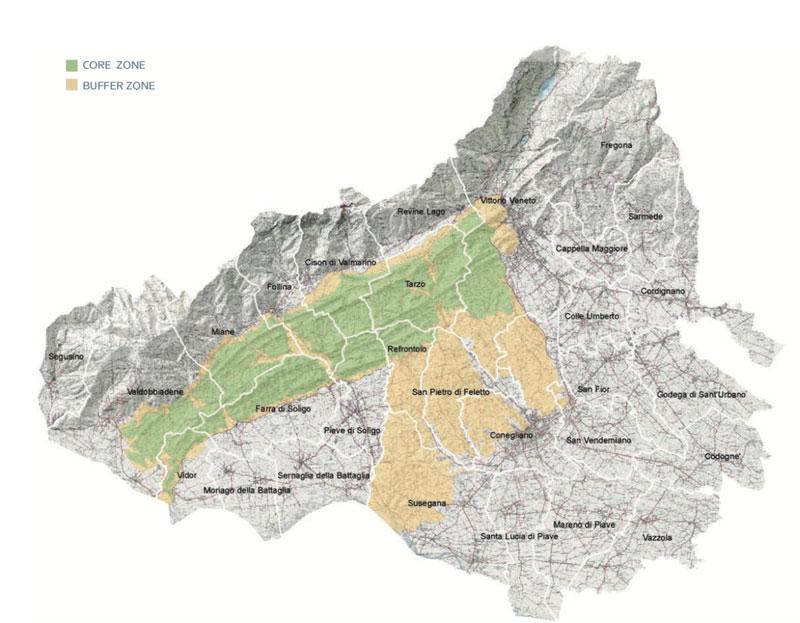 colline del prosecco Unesco